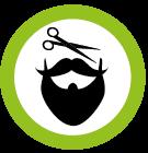 baard mannenstoel